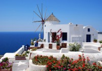 Welcome to Santorini, the ancient island