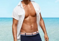Men's swimwear trends – summer holiday 2014