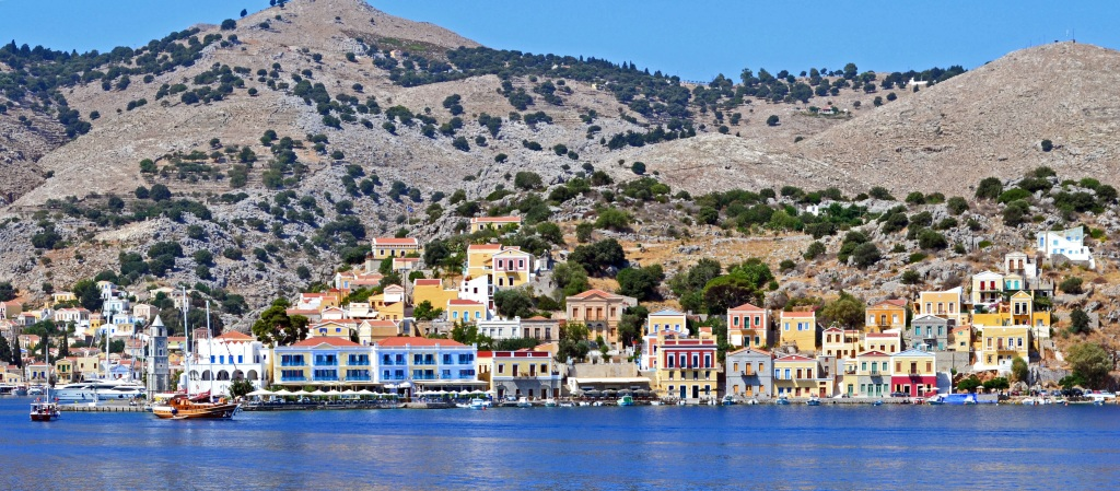 The Dodecanese islands, Greece
